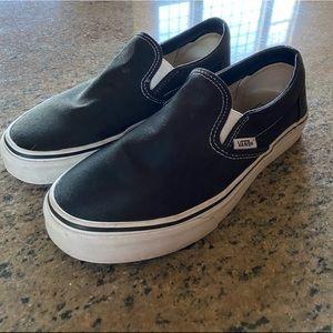 Classic Black Slip-On Vans